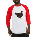 Partridge Rock Hen Baseball Jersey