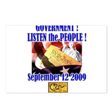 Unique Congress to the people Postcards (Package of 8)
