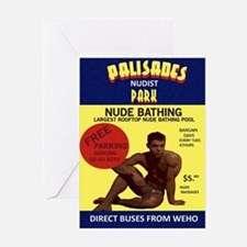 palisades nudist park Greeting Card