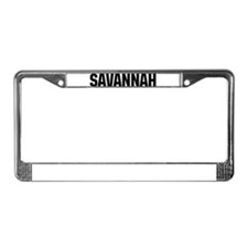 Savannah, Georgia License Plate Frame