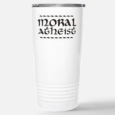Moral Atheist Stainless Steel Travel Mug