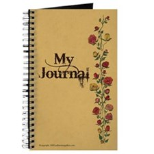 Parchment with Rose Trellis Journal