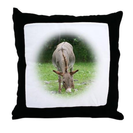 Mule Photo Throw Pillow