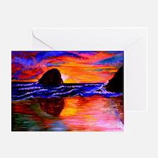Fine Art - HayStack Rock Greeting Cards (Pk of 10)