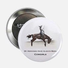 cowgirl heroines Button