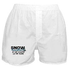 Snow Trembles Boxer Shorts