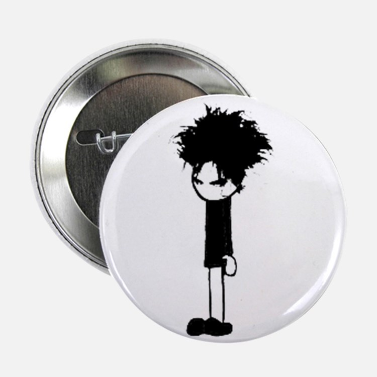 """Cute The cure 2.25"""" Button"""