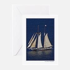 Tall ship / schooner Greeting Cards (Pk of 10)