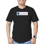Calvin's Paws Men's Fitted T-Shirt (dark)