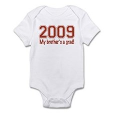 2009 My Brother's A Grad Infant Bodysuit
