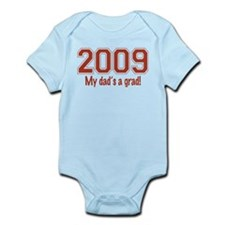 2009 My Dad's A Grad Infant Bodysuit