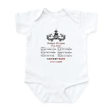 Unique International food Infant Bodysuit