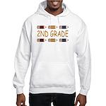 Fun 2nd Grade Hooded Sweatshirt