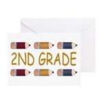 Fun 2nd Grade Greeting Cards (Pk of 10)