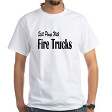 Plays with Fire Trucks Shirt