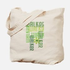 Green Fitness Walker Tote Bag