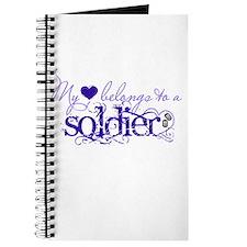 My heart belongs to a Soldier Journal
