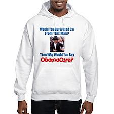 Used ObamaCare Salesman Hoodie