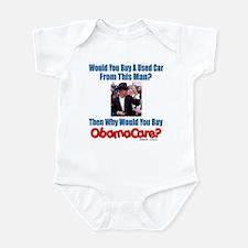 Used ObamaCare Salesman Infant Bodysuit