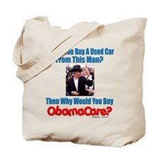 Used ObamaCare Salesman Tote Bag