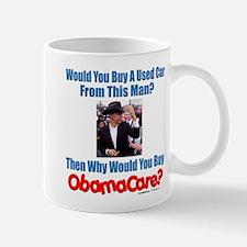 Used ObamaCare Salesman Mug