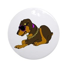 Mini-Pin with Bling Ornament (Round)