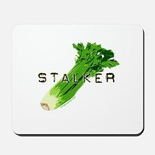 celery stalker, dieter/vegetarian/vegan Mousepad