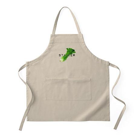 celery stalker, dieter/vegetarian/vegan BBQ Apron