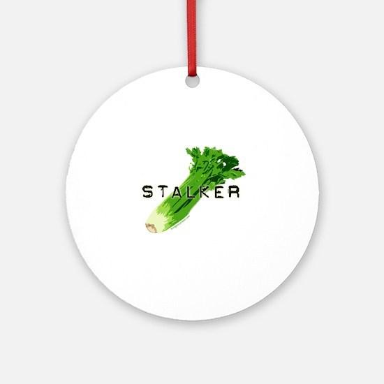 celery stalker, dieter/vegetarian/vegan Ornament (