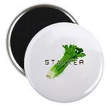 celery stalker, dieter/vegetarian/vegan Magnet