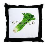 celery stalker, dieter/vegetarian/vegan Throw Pill