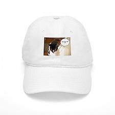 Tuxedo Cat Humor Baseball Cap