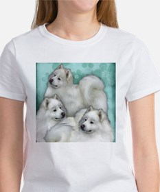Samoyed Dogs Women's T-Shirt