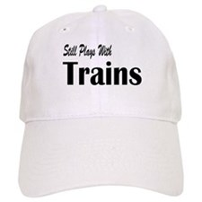 Plays With Trains Baseball Cap