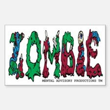 Zombie Guts Decal
