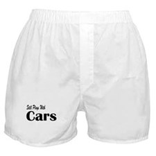 Plays With Cars Boxer Shorts