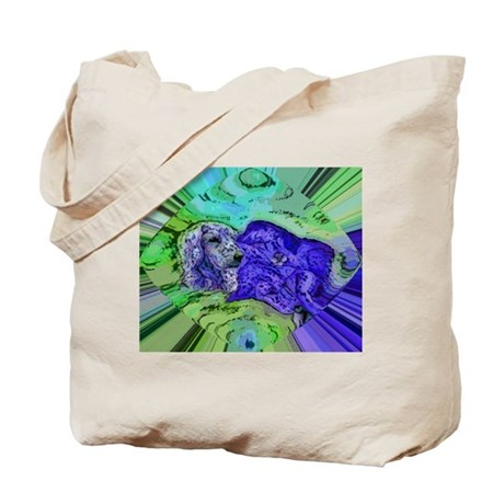 Fine Art - Doggy Bliss Tote Bag