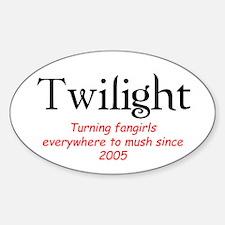 Twilight Mush Oval Decal
