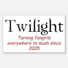 Twilight Mush Rectangle Decal
