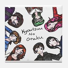 otaku Tile Coaster