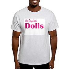 Plays With Dolls pnk Ash Grey T-Shirt