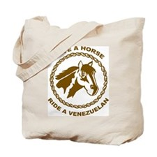 Ride A Venezuelan Tote Bag