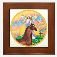 Blessings/Horse (Ar-Brn) Framed Tile