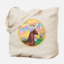 Blessings/Horse (Ar-Brn) Tote Bag