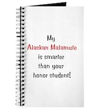 My Alaskan Malamute is smarter... Journal