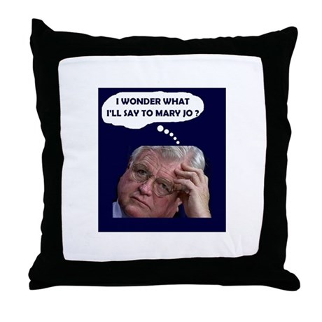 I'M GOING FOR HELP! Throw Pillow