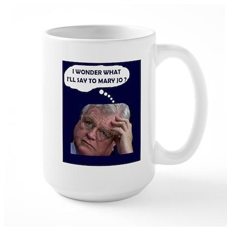 I'M GOING FOR HELP! Large Mug