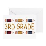 Fun 3rd Grade Greeting Cards (Pk of 10)
