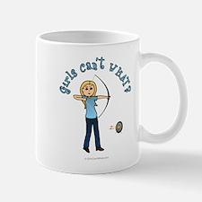 Blonde Blue Archery Mug