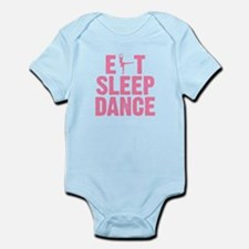 EAT SLEEP DANCE Infant Bodysuit